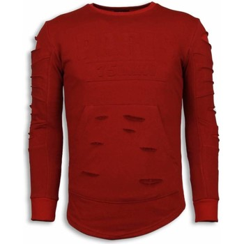 Textiel Heren Sweaters / Sweatshirts John H 3D Stamp PARIS Trui - Damaged Sweater 8