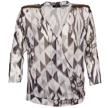Textiel Dames Tops / Blousjes One Step CREPUSCULE Grijs / Wit