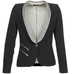 Textiel Dames Jasjes / Blazers One Step VIOLON Zwart
