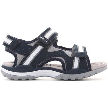 Schoenen Kinderen Sandalen / Open schoenen Geox J Borealis J820RB 01050 C0661 navy , grey, white