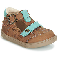Schoenen Jongens Sandalen / Open schoenen GBB AREZO Bruin / Blauw
