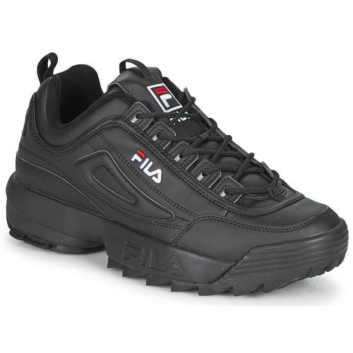 Schoenen Heren Lage sneakers Fila DISRUPTOR LOW Zwart