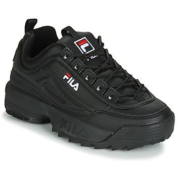 Schoenen Dames Lage sneakers Fila DISRUPTOR LOW WMN Zwart