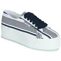 Schoenen Dames Lage sneakers Superga 2790 COT MULTI STRIPE W Wit