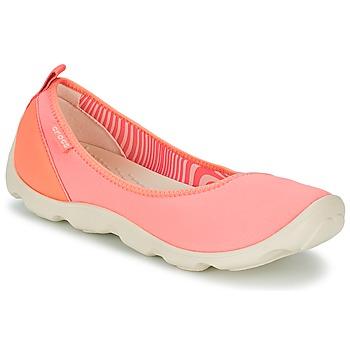 Schoenen Dames Ballerina's Crocs DUET BUSY DAY FLAT Oranje