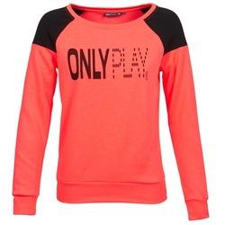 Textiel Dames Sweaters / Sweatshirts Only Play MAKAYLA TOP Koraal