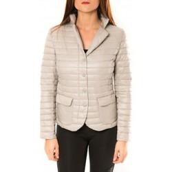 Textiel Dames Jacks / Blazers De Fil En Aiguille Doudoune Victoria & Karl 15326-C Beige Beige