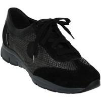 Schoenen Dames Lage sneakers Mephisto YAEL Velvet zwart