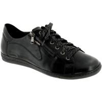 Schoenen Dames Lage sneakers Mobils By Mephisto HAWAI Zwart leer
