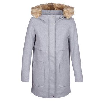 Textiel Dames Mantel jassen Only ONLNOAH Grijs