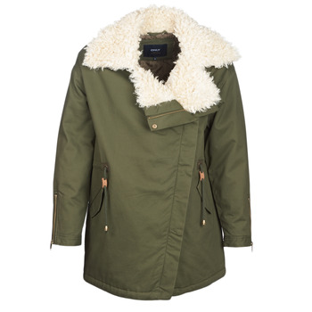 ONLY Oversized Parka Dames Green