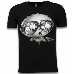 Textiel Heren T-shirts korte mouwen Mascherano Stewie Dog - T-shirt 38