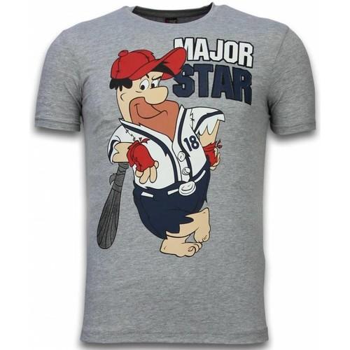 Textiel Heren T-shirts korte mouwen Local Fanatic Major Star Grijs