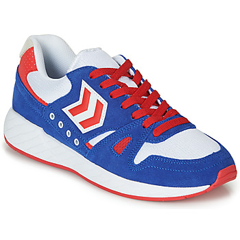 Schoenen Lage sneakers Hummel LEGEND MARATHONA Blauw / Rood / Wit