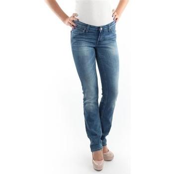 Textiel Dames Skinny jeans Lee Marlin Slim Straight L337OBDJ blue