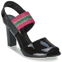 Schoenen Dames Sandalen / Open schoenen Sonia Rykiel 683902 Zwart / Roze