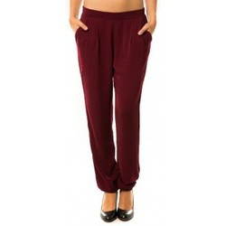 Textiel Dames Trainingsbroeken Dress Code Pantalon R9771 Bordeaux Rood