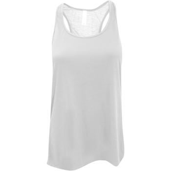 Textiel Dames Mouwloze tops Bella + Canvas BE8800 Wit