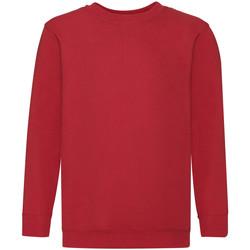 Textiel Kinderen Sweaters / Sweatshirts Fruit Of The Loom 62041 Rood