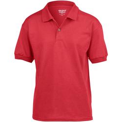 Textiel Kinderen Polo's korte mouwen Gildan 8800B Rood