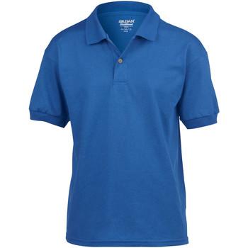 Textiel Kinderen Polo's korte mouwen Gildan 8800B Royaal Blauw