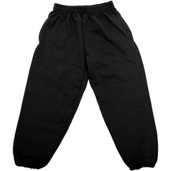 Textiel Kinderen Trainingsbroeken Jerzees Schoolgear 750B Zwart