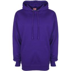 Textiel Heren Sweaters / Sweatshirts Fdm FH001 Paars