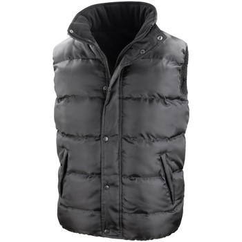 Textiel Heren Dons gevoerde jassen Result R223X Zwart