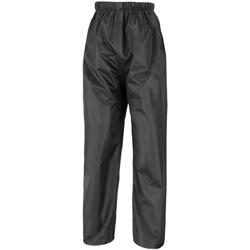 Textiel Heren Trainingsbroeken Result R226X Zwart