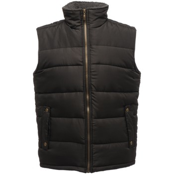 Textiel Heren Dons gevoerde jassen Regatta TRA806 Zwart