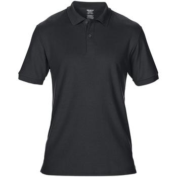 Textiel Heren Polo's korte mouwen Gildan 75800 Zwart