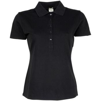 Textiel Dames Polo's korte mouwen Tee Jays TJ145 Zwart
