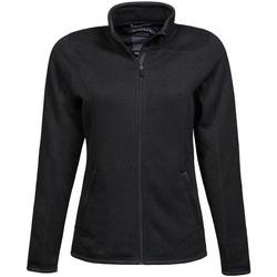 Textiel Dames Fleece Tee Jays TJ9616 Zwart