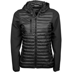 Textiel Dames Dons gevoerde jassen Tee Jays TJ9629 Zwart