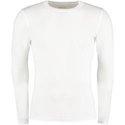 Textiel Heren T-shirts met lange mouwen Gamegear Warmtex Wit