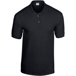 Textiel Heren Polo's korte mouwen Gildan 8800 Zwart