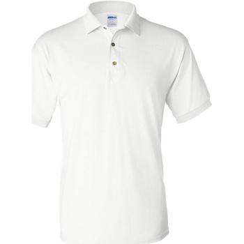 Textiel Heren Polo's korte mouwen Gildan 8800 Wit