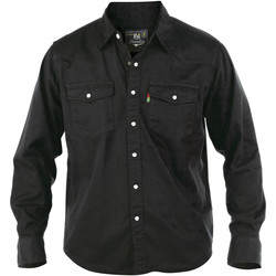 Textiel Heren Overhemden lange mouwen Duke Western Zwart