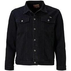 Textiel Heren Spijker jassen Duke  Zwart