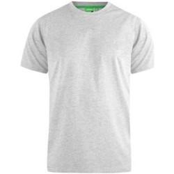 Textiel Heren T-shirts korte mouwen Duke  Grijs