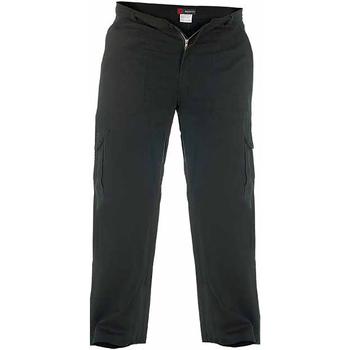 Textiel Heren Cargobroek Duke  Zwart