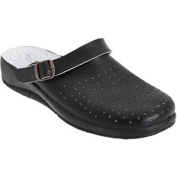 Schoenen Dames Klompen Dek Swivel Zwart