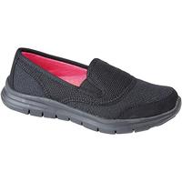 Schoenen Dames Instappers Dek  Zwart
