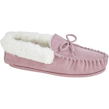 Schoenen Dames Sloffen Mokkers  Roze