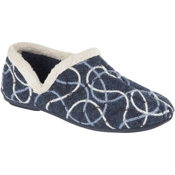 Schoenen Dames Sloffen Sleepers  Blauw