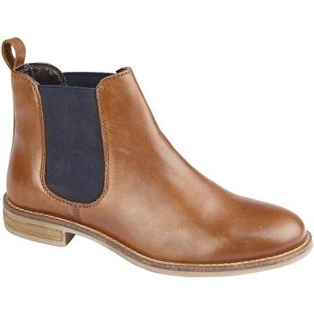 Schoenen Dames Laarzen Cipriata  Tan