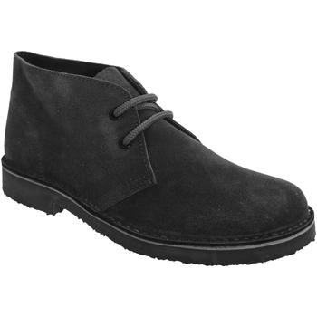 Schoenen Dames Laarzen Roamers Round Toe Zwart