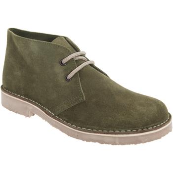 Schoenen Dames Laarzen Roamers Round Toe Khaki