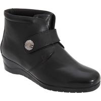 Schoenen Dames Enkellaarzen Mod Comfys  Zwart