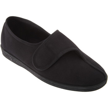 Schoenen Heren Sloffen Comfylux  Zwart